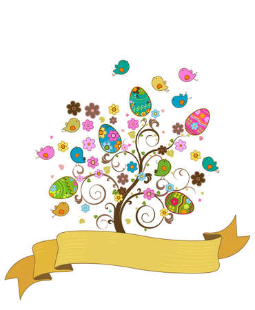 easter tree Stock Photo - 6481266