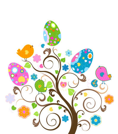 easter tree photo