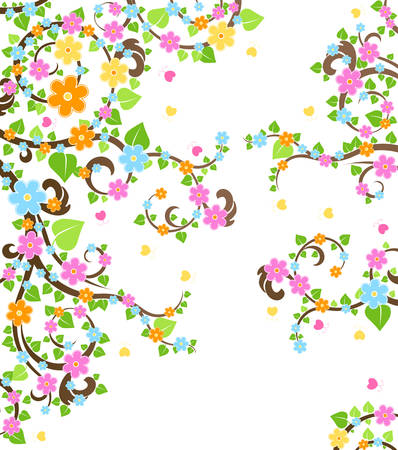 blossom tree Stock Vector - 6516345