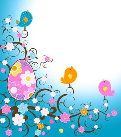 pollitos: dise�o de Pascua