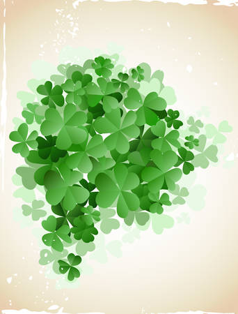 st patrick`s day card Stock Vector - 6570340