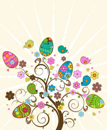 easter tree Stock Photo - 6663848