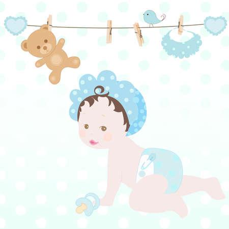 sweet baby boy photo