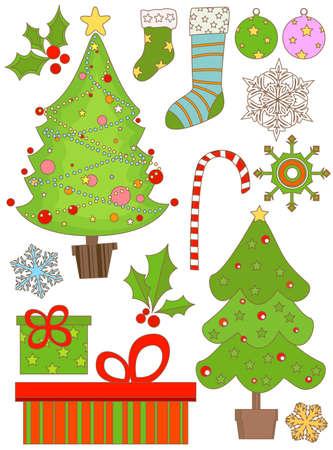 christmas set Stock Photo - 8455666