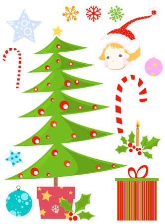 christmas set Stock Photo - 8455653