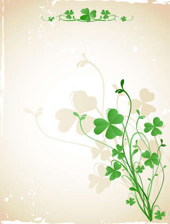 st patrick`s day card photo