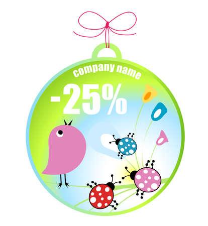 bugs shopping: ventas de primavera, dise�o de concepto de compras