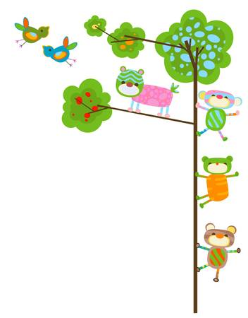 flying monkey: monkeys Illustration