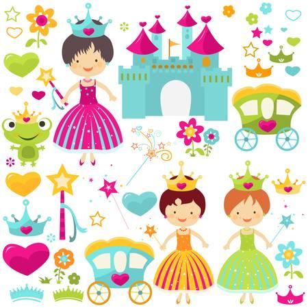 princess: piccola principessa set per le ragazze