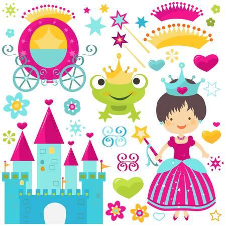 princess frog: little princess establecido para las ni�as