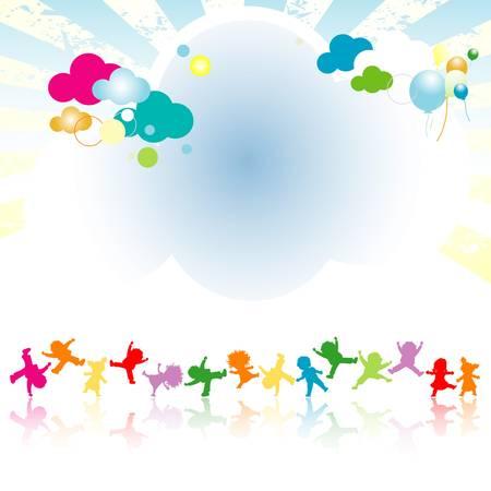 kinder: bambini felici