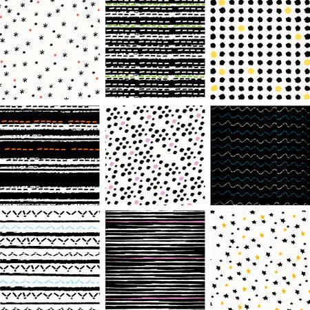 digital paper pattern set