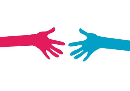participation: hands together
