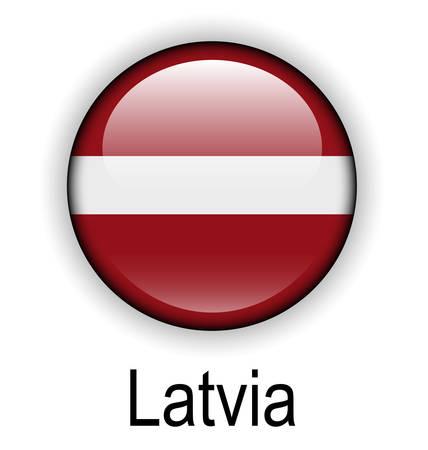 latvia: latvia state flag Illustration