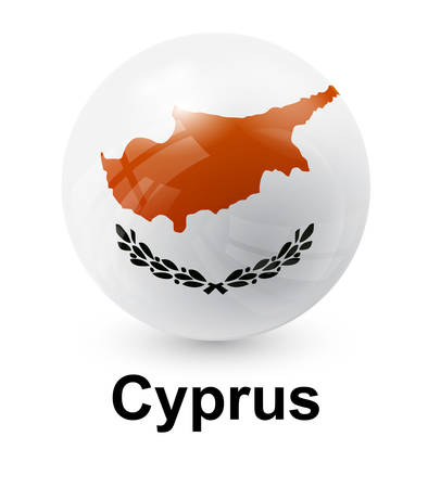cyprus: cyprus state flag Illustration