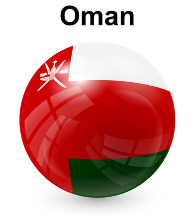 oman: oman official state flag