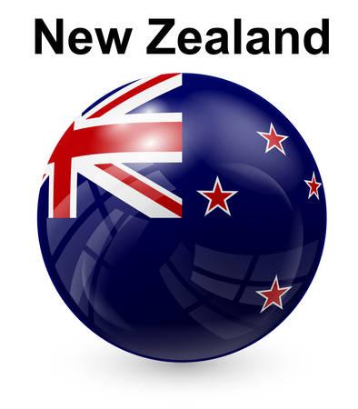 bandera de nueva zelanda: nueva bandera oficial del estado zelanda Vectores