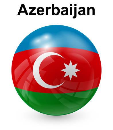 azerbaijan: azerbaijan official state flag