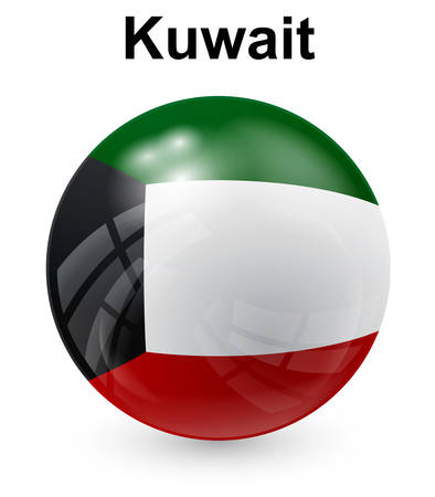 official: kuwait official state flag
