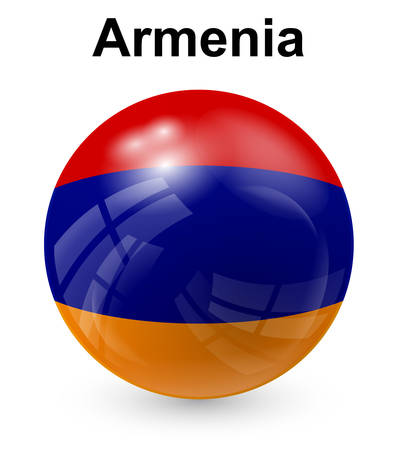 armenia: armenia official state flag