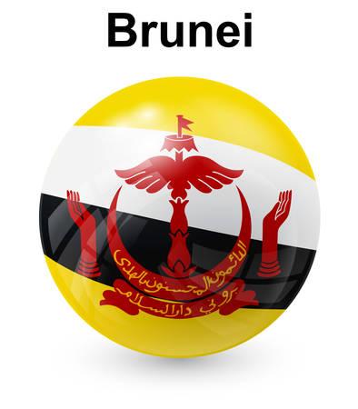 brunei: brunei official state flag
