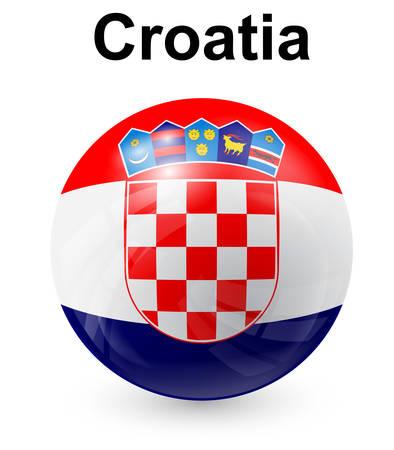 bandera de croacia: croacia bandera oficial del estado