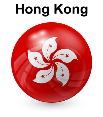 official symbol: hong kong official state flag