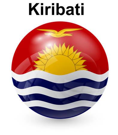 kiribati: kiribati official state flag