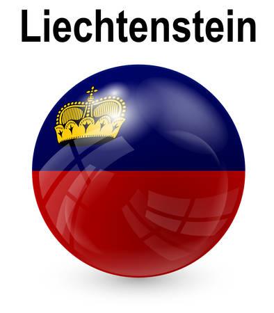 official: liechtenstein official state flag