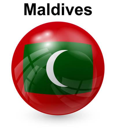 light maldives: maldives official state flag