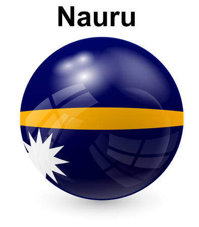 nauru: nauru  official state flag