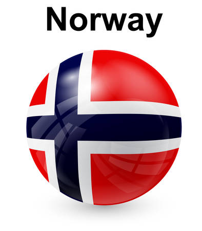 norway flag: norway official state flag