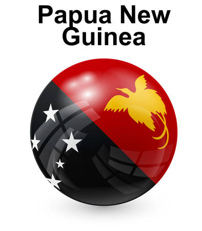 papua: papua new guinea official state flag
