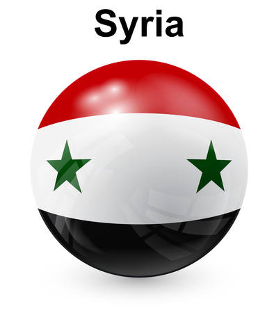 syria: syria official state flag
