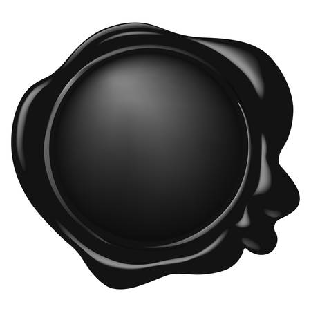 vector wax seal  イラスト・ベクター素材