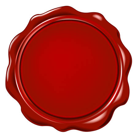 vector wax seal Çizim