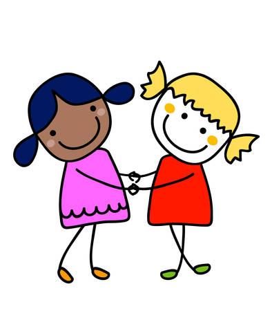 best friends: best friends Illustration