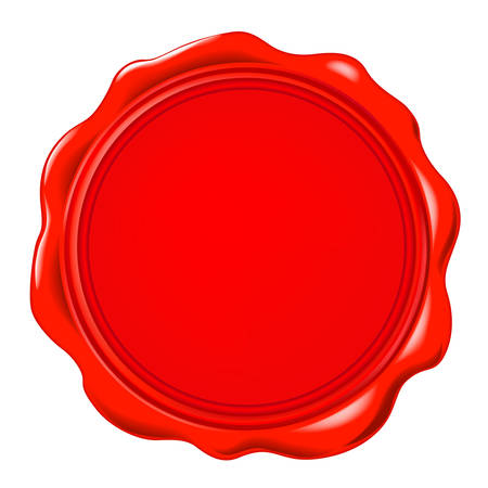 seal: vector wax seal Illustration