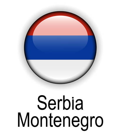 serbia and montenegro: serbia montenegro official state flag