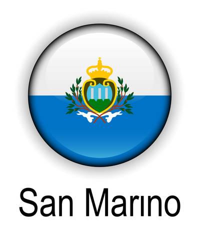 san marino: san marino official state flag
