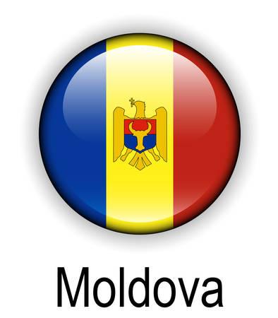 moldova: moldova official state flag Illustration
