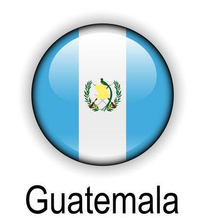 guatemala: guatemala official flag, button ball