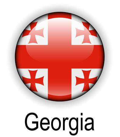 georgia: georgia official state flag