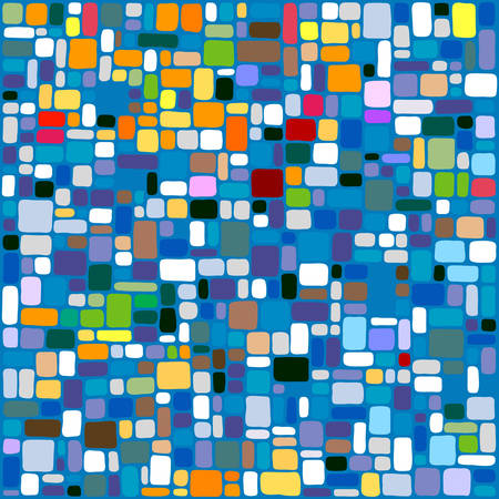 tiles abstract background Illustration
