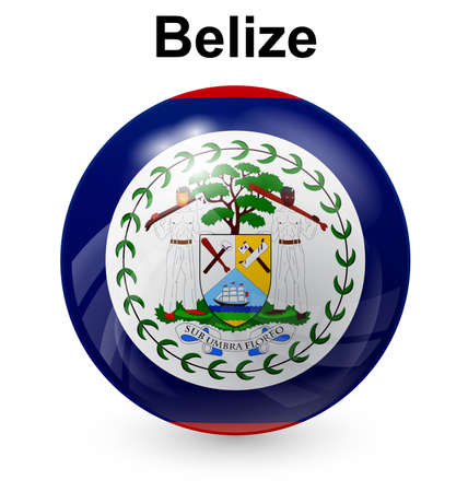 belize: belize official flag
