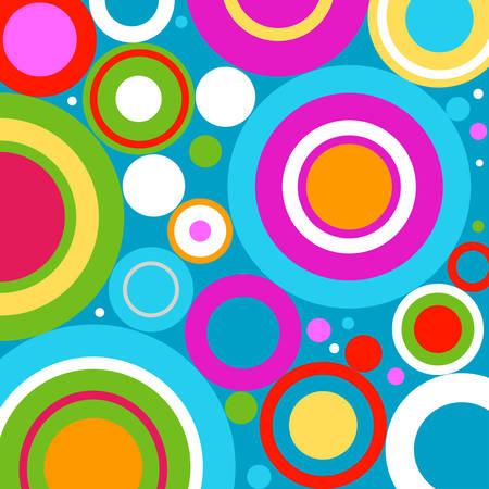 retro: retro circles