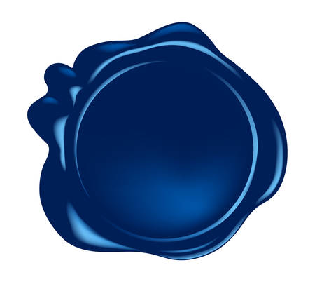 wax seal: vector wax seal Illustration