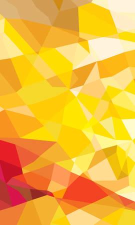 autumn geometric abstract background Illustration