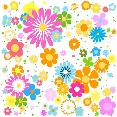 flowers background Illustration