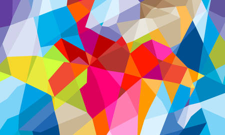 colorful abstract background: colorful geometric abstract background Illustration